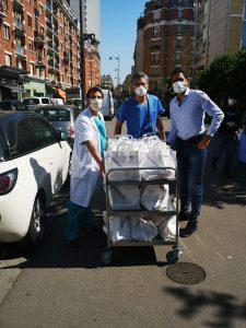 Côme Paris livre l'hôpital St Joseph
